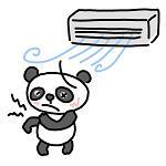 冷房による肩の冷え